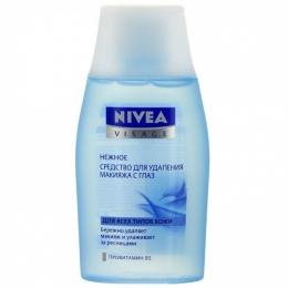 Средство для удаления макияжа с глаз Nivea Visage нежное