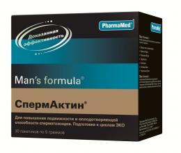 Средство для улучшения подвижности сперматозоидов Man's formula Спермактин