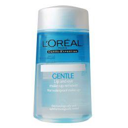 Средство для снятия водостойкого макияжа с глаз и губ L'Oreal Gentle remover for waterproof make-up