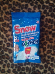 Средство отбеливающее экстра сила oxygen Snow Inter star
