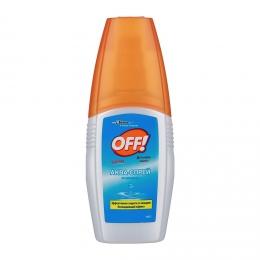 """Аква-спрей от комаров """"Off!"""" охлаждающий эффект"""