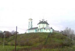 Старинный храм село Кантаурово (Нижегородская область)
