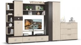 """Стенка для гостиной """"Верона"""" Много Мебели"""