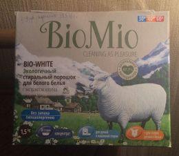Экологичный стиральный порошок для белого белья BioMio Bio-White