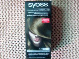 Стойкая крем-краска для волос Syoss Professional Performance 6-8 тёмно-русый