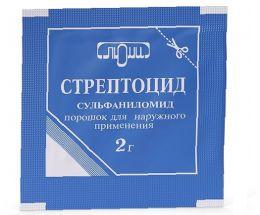 Порошок для наружного применения Стрептоцид