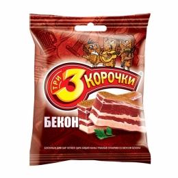 """Сухарики """"3 Корочки"""" Бекон"""