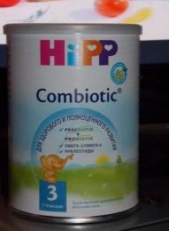 Сухая частично адаптированная молочная смесь Hipp Combiotic 3 с 10 месяцев