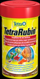 Сухой хлопьевидный корм для любых видов тропических рыб Tetra TetraRubin
