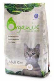 Сухой корм для взрослых кошек Organix с курицей