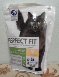 Сухой корм для кошек Perfect Fit Senior для кошек старше 7 лет с курицей