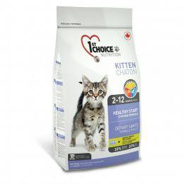 Сухой корм для котят 1st Choice «Здоровый старт» 2-12 месяцев с курицей