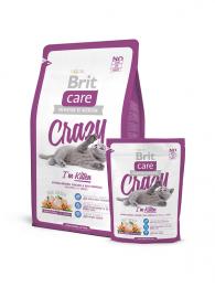 Сухой корм для котят Brit Care Cat Crazy I'm Kitten