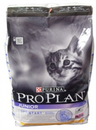 Сухой корм для котят Purina Pro Plan Junior с курицей