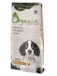Сухой корм для щенков Organix с курицей