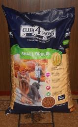 Сухой корм для собак малых пород Club 4 Paws