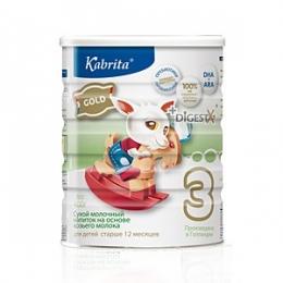 Сухой молочный напиток на основе козьего молока Kabrita 3 Gold для малышей старше 12 месяцев