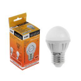 "Светодиодная LED лампа Ecola G45 ""шар"" 4.0w"