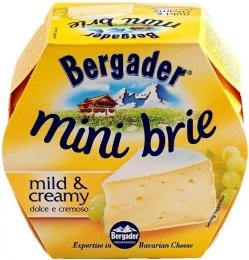 Сыр мягкий Bergader mini brie mild creamy