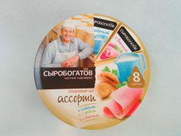 """Сыр плавленный """"Сыробогатов"""" Ассорти в треугольниках"""