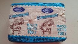 """Сыр плавленый пастообразный """"Сливочный"""" Молочный мир 56%"""