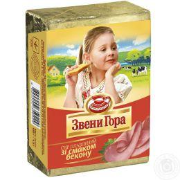 """Сыр плавленый """"Звени Гора"""" со вкусом бекона"""