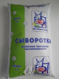 """Сыворотка """"Буденновск-МолПродукт"""" молочная творожная пастеризованная"""