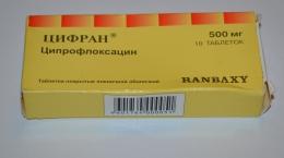 "Таблетки ""Цифран"" Ranbaxy"
