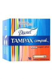 Тампоны Tampax Compak super plus