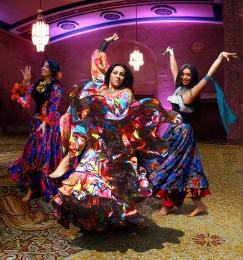 """Танцевальный стиль """"Цыганские народные танцы"""""""
