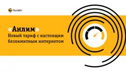 """Тарифный план """"Билайн"""" """"Анлим"""""""