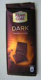Темный шоколад Alpen Gold Dark