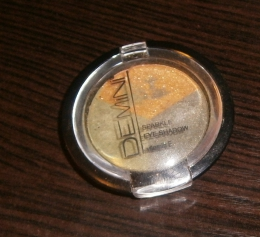 Тени для век Demini Sparkle eye shadow trio с витамином E