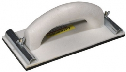 Терка с зажимами для шлифовальной сетки и бумаги 3569-08 230×80 Master Stayer