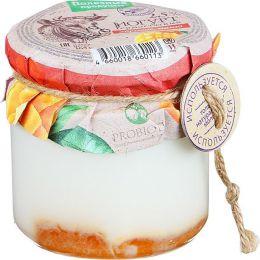 """Термостатный йогурт """"Полезные продукты"""" с фруктово-ягодным наполнителем """"абрикос-манго""""  2,5%"""