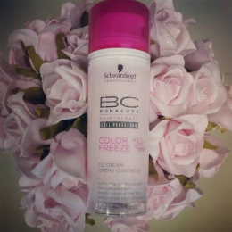 Термозащитное средство Schwarzkopf Professional BC Color Freeze CC Control Cream