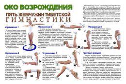 """Тибетская гимнастика """"Око возрождения"""""""