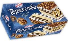 "Торт-мороженое ""Торжество"" Грецкий орех Инмарко"