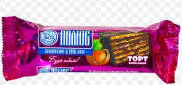 """Торт шоколадно-вафельный """"Полюс"""" с фундуком"""