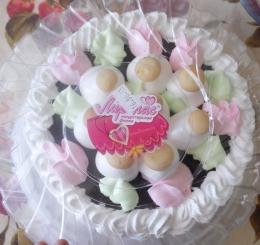 Торт-суфле Лиронас «Лу-лу» с грибочками шоколадный