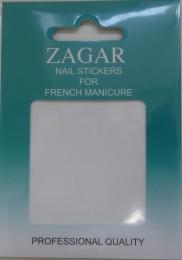 Трафарет для французского маникюра Zagar