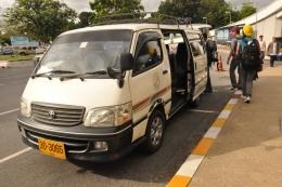 Трансфер на минибасе от Патонга до аэропорта Пхукета (Таиланд)