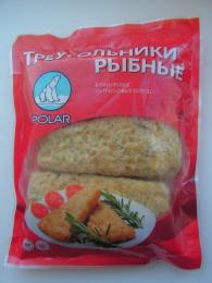 """Треугольники рыбные """"Polar"""" из тресковых пород"""