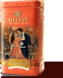 """Цейлонский крупнолистовой черный чай с кусочками маракуйи Hyleys The Aristocratic Tea """"Плод страсти"""""""