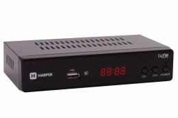 Цифровой телевизионный DVB-T2 приёмник Harper HDT2-5010