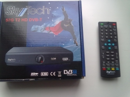 Цифровой телевизионный ресивер SkyTech 57G DVB-T