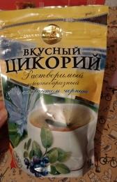 """Цикорий растворимый порошкообразный с экстрактом черники """"Вкусный цикорий"""""""