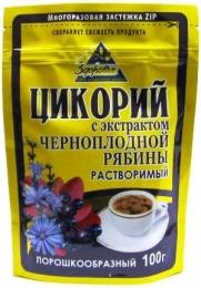 """Цикорий """"Здоровье"""" с экстрактом черноплодной рябины растворимый"""
