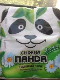 """Туалетная бумага  ТМ""""Снежная панда"""" Aroma"""
