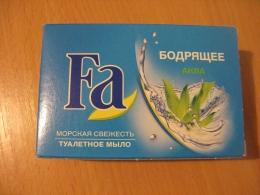 Туалетное мыло Fa «Морская свежесть» Бодрящее Аква